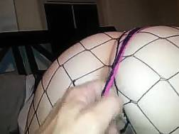 sexy wife fishnet tights
