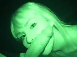 blond prostitute shows cunt