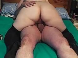 fatty wife wearing high