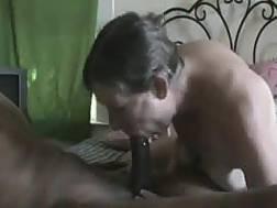 mature neighbour shows blowjob