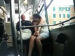 woman teases legs spy
