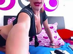 livecam blonde uniform teases