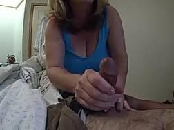 big boobed grandmother jumps