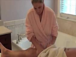 incredibly sexy mamma massage