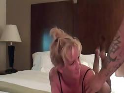 blond mature gets tight