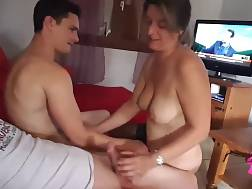 wife playing hubby &