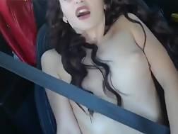 nude hottie sitting seat