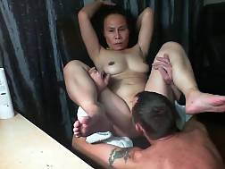 mature oriental licked &