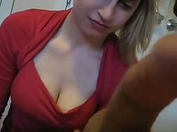 busty college coed suck