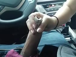 blowing prick car fetish