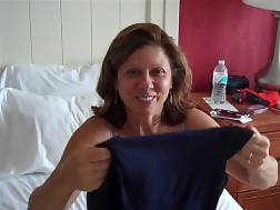 mature wife husband getting