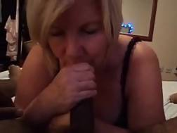 sleazy mature woman blows
