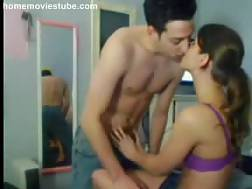 sexual young couple drilling