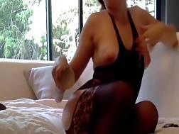 fucker penetrates lady masturbates