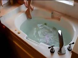 Romantic bath turns