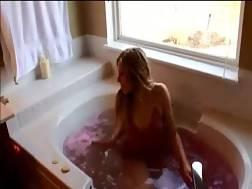 romantic bath turns inside