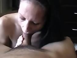 Sweet brunette mamma