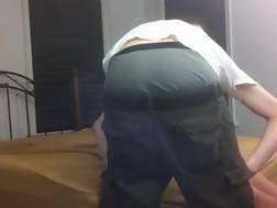 skinny buddy eats dominant