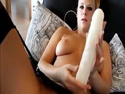 big ass blondie dildoing