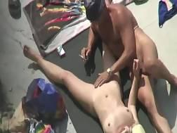 fingering vagina beach