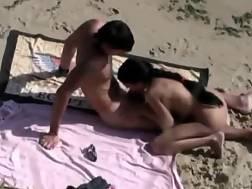 nasty amateur couple beach