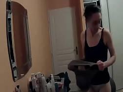 slim nymph secretly filmed