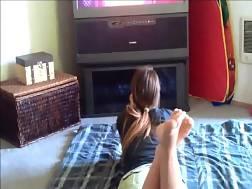 horny teasing nice feet