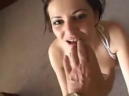 brunette hot nymph knees