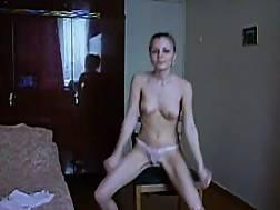 slender solo girlie posing