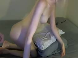 lovely amateur takes facial