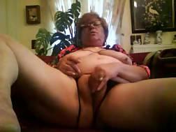 horny grandma play vagina
