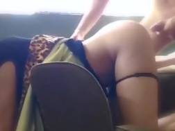 submissive girlfriend spanked drilled