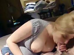boobed lusty wife sucking