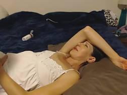 milf enjoys choke cock