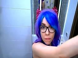 cosplay girlfriend blowing dick