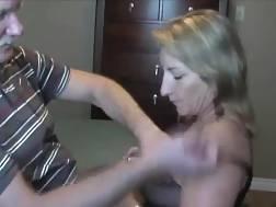 mature housewife superb blowjob