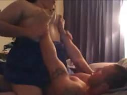spanish bbw fucks dirty