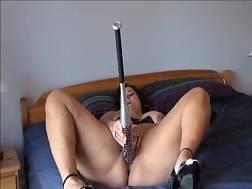 bbw lady uses huge