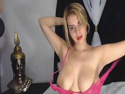 curvy blonde camgirl spreads