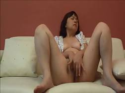 mature asian lady fingering