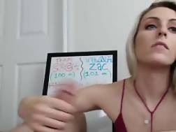 webcam blowjob cute blond