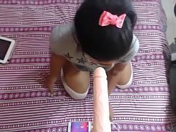 indian girlie suck long