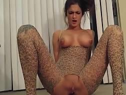 pierced slut enjoys butthole