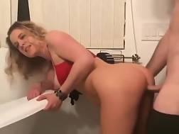 nasty mom penetrates &