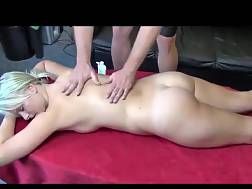 good blondie massage hot