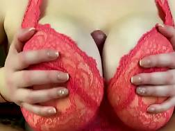 busty ex wifey masturbates
