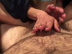 gorgeous chick enjoys masturbate