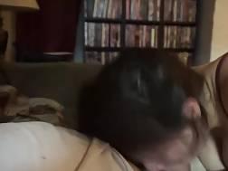 wife licking pecker nutsack