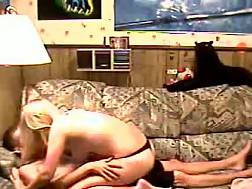 park couple showing homemade