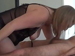 Curvy wife in underwear